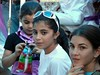 Fillettes palestiniennes, Beit Ummar, 25/7/10
