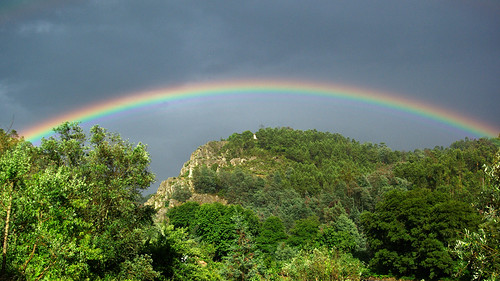 rainbow over cabril