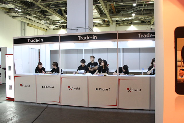 Trade-in Booths