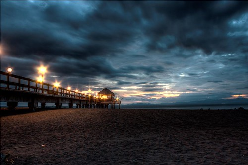 costa rica sun set