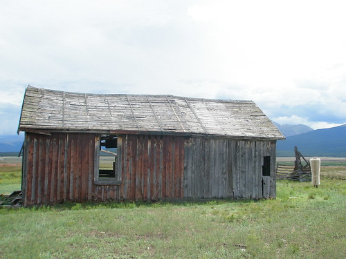 Leadville abandoned cabin 2