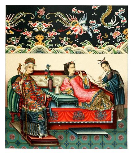 010-Emperatriz y concubinas chinas-Geschichte des kostüms in chronologischer entwicklung 1888- A. Racine