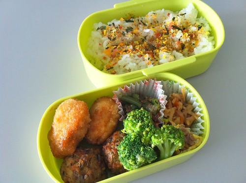 今日のお弁当 No.6 – 緑黄野菜
