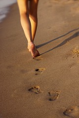 .. left behind .. (jerome666) Tags: beach sand track legs footprints footprint