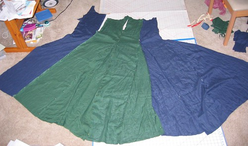 Giant Parti-Colored Kirtle Of Doom!