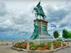 Statue équestre du général San Martin - Boulogne - France !
