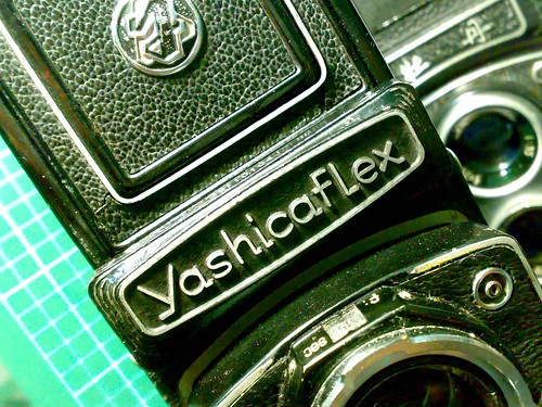YASHICA-D與FLEX NEW MODEL B比較