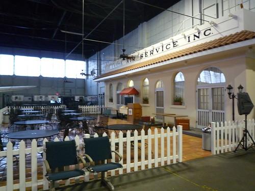 Model of Original Monroe Terminal