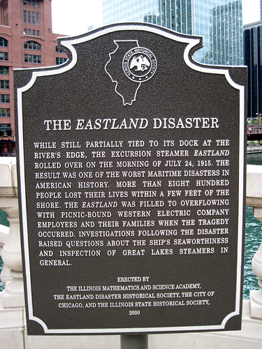 Eastland Disaster plaque