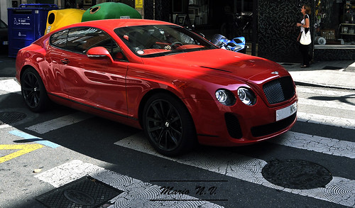 Red Bentley Continental Supersports Coupe A Photo On Flickriver