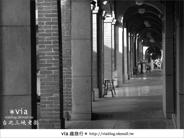 【台北景點】走入台北古味老鎮~三峽老街之旅17