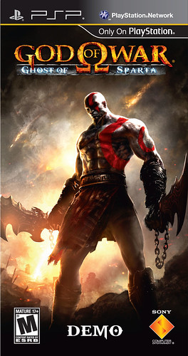 God of War: Ghost of Sparta demo for PSP