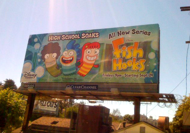 Fish Hooks! The show I've had the pleasure of designing characters for in