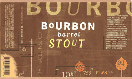 Odell Bourbon Barrel Stout