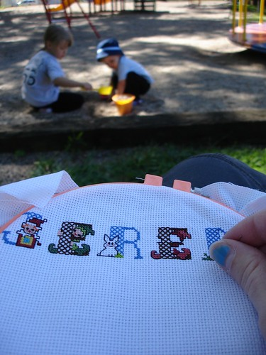 Stitching in public