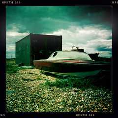 Used to be faster (captainbonobo) Tags: boat decay pistil dungeness johns iphone captainbonobo hipstamatic nomorewaterforme