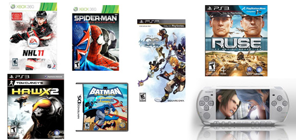 September 6, 2010 game releases