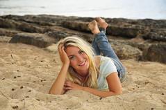 Anna (Mike Slagter) Tags: beach hawaii model nikon northshore blondehair d300 swedishmodel michaeljphotography