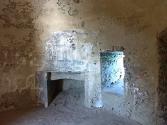 Visite de la tour d'Agnellu : la salle du 1er étage