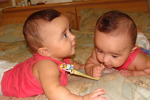 Iyla grabs Esha's dummy