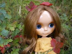 Autumn girl Siobhan