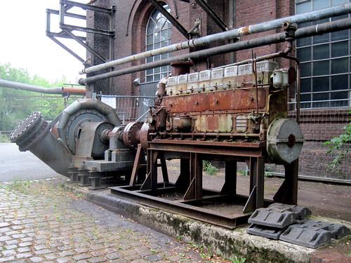 Landschaftspark Duisburg-Nord - Old motor