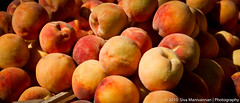 Yellow Peaches (longShutter) Tags: light farmersmarket baltimore blacklight peaches crate canon1740mmf4l yellowpeaches canon7d dozenpeaches