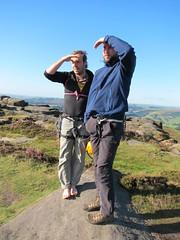 Ben & Kristoffer ser etter rype :)
