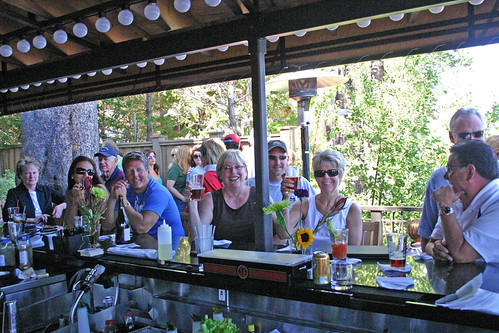 Labor Day at Lake Tahoe's West Shore Cafe