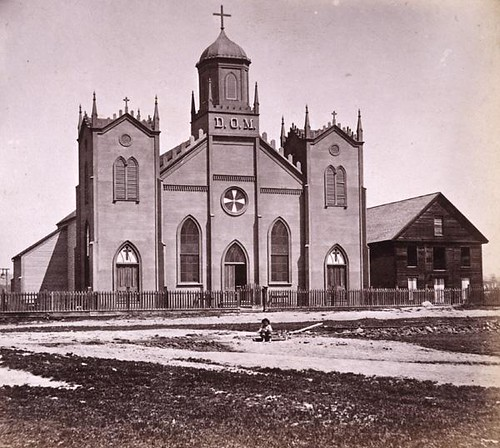 Mission church at Santa Cruz