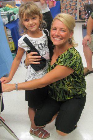Karli and her 1st Grade Teacher