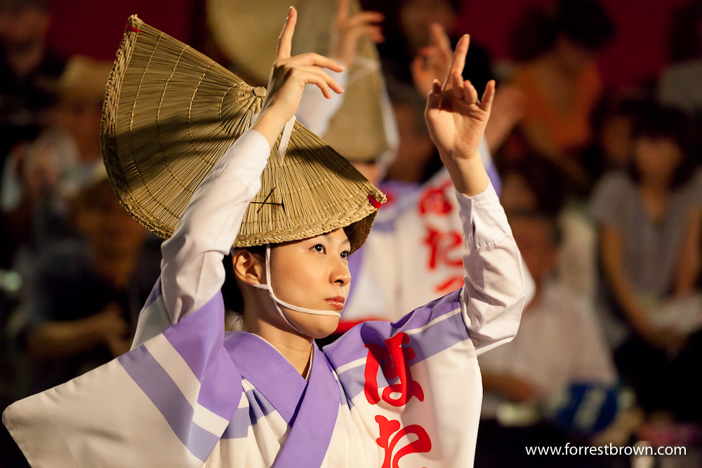 2010 Awa Odori Dance Festival in Koenji Tokyo.
