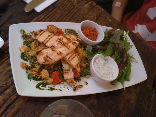 Grilled Chicken and Couscous
