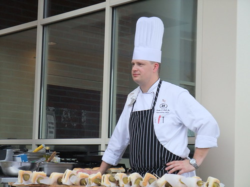 Chef Kevin Ball of the Polaris Hilton
