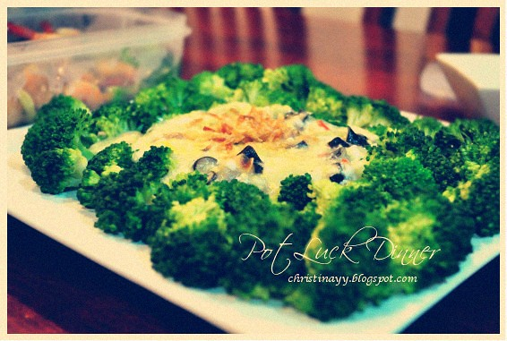 Potluck Monday: Brocolli Dish