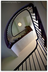 The staircase (TDR Photographic) Tags: uk england canon pattern cotswolds staircase shape hidcotemanor eos5d