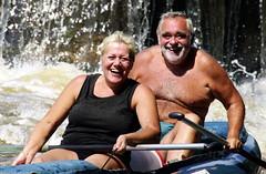 23.8.10 Vyssi Brod Weir 9 276 (donald judge) Tags: water river kayak republic czech canoe raft vltava brod weir vy southbohemia