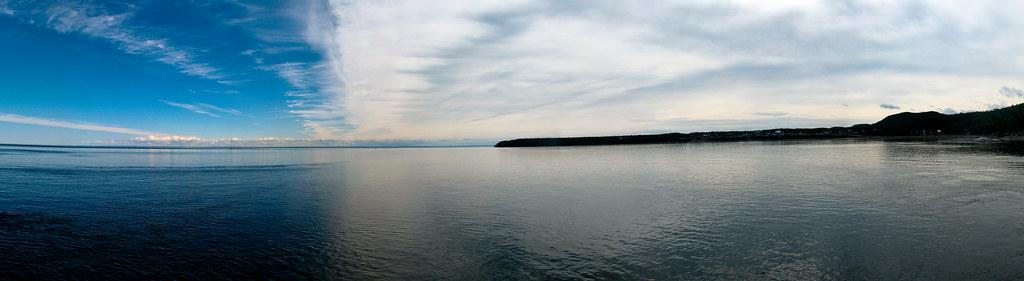 Panorama - Quai de Baie-Sainte-Catherine
