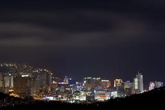 Pusan lights (- MH -) Tags: city night clouds buildings lights korea busan southkorea pusan