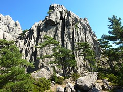 Sur la trace Sud vers le Castellucciu : contreforts W du Castellucciu