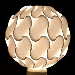 Elastica Light (Prof. YM) Tags: lighting architecture paper design dome polyhedra ploygon