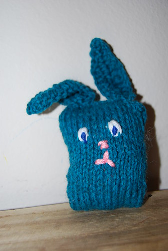 Knitting Practice Bunny