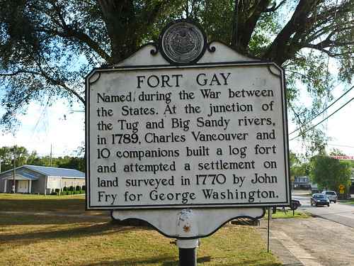 Fort Gay WV. 36.11732 -82.59422
