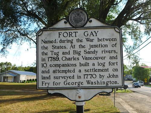 Fort Gay WV. 36.11732 -82.59422