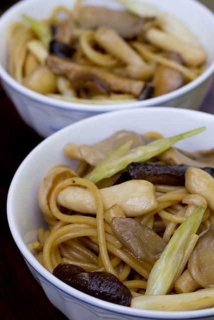 Mushroom Lo Mein 9