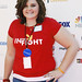 Alexis Johnson (Make-A-Wish) on the red carpet at the 2010 Stand Up To Cancer Show.