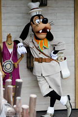 Tokyo Aug 2010 - Goofy hangs out in Lost River Delta