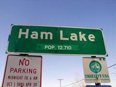entering Ham Lake (via Minnesota Real Estate Information)