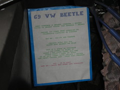 The Widened Beetle (Yoav Lerman) Tags: california cars car antique eureka lerman
