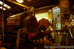 Rolvenden Locomotive Restoration Sheds